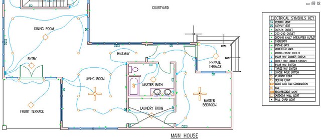 Electrical And Hvac Plan Close Up 1 Rachel Rubenstein