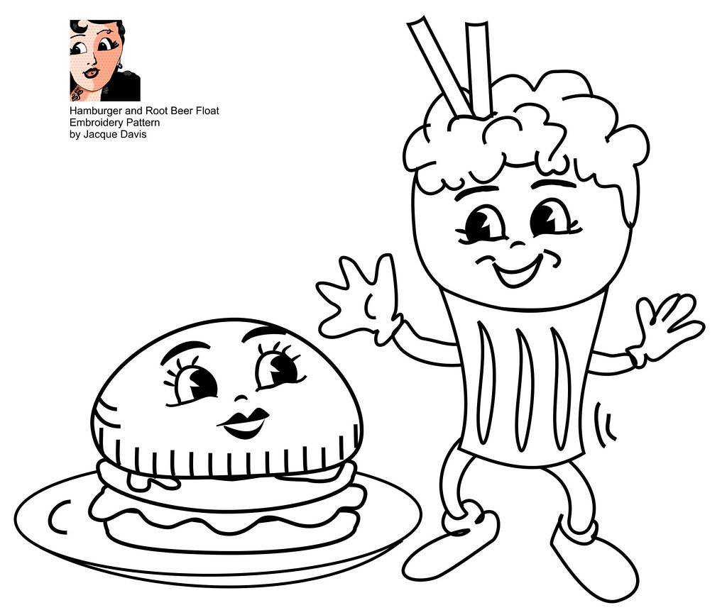 rootbeer coloring pages - photo#10