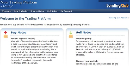 Lending Club note trading platform | by sunsfinancial