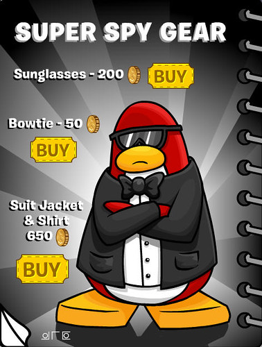 Clubpenguin super spy gear and cool stuff bray10pen for Coool stuff com
