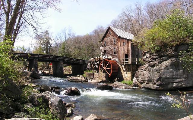 Glade creek grist mill babcock state park west virginia for Trodel mobel