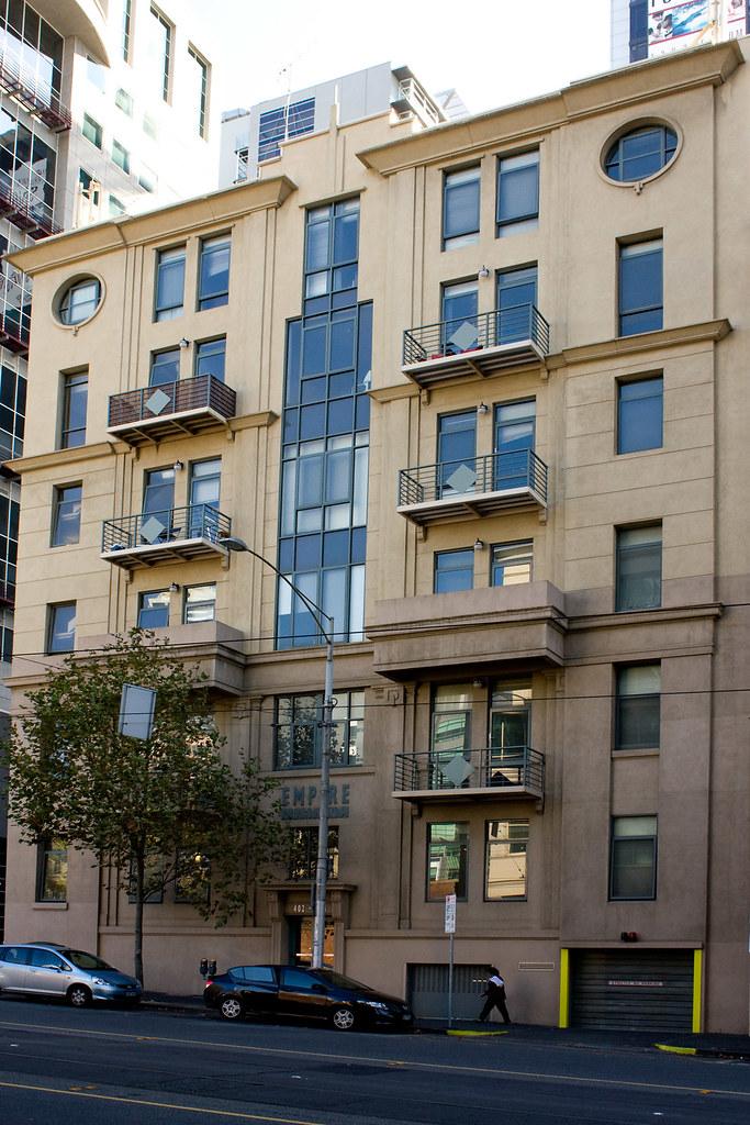 empire apartment building la trobe street melbourne aust. Black Bedroom Furniture Sets. Home Design Ideas