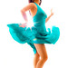 Sassy salsa dancer