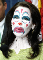Michele Bachmann (Rep. R-MN):: Obstructionist Republican Clown