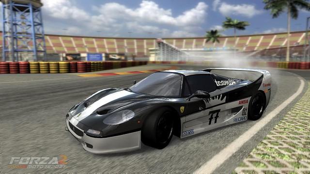 F50 77 Black White Ferrari F50 Team8477 Flickr