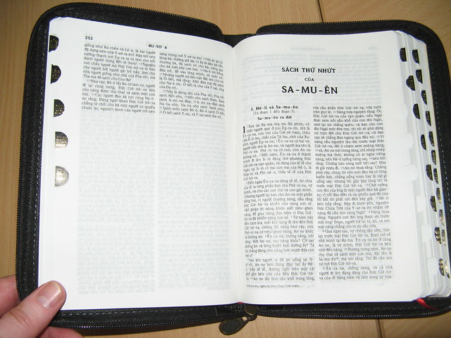 bible thumb index