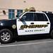 Napa County Sheriff's SUV
