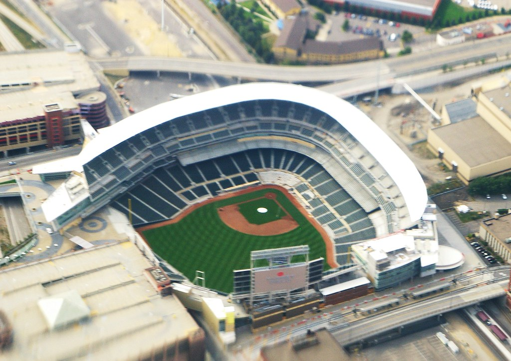 Target Field Minneapolis Mn Nearly Complete In This