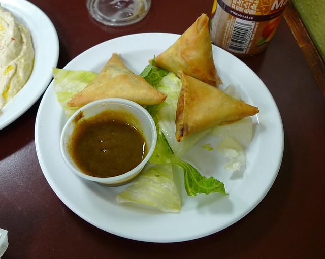 Beef samosas al hamra halal cafe redondo beach ca for Al hamra authentic indian cuisine
