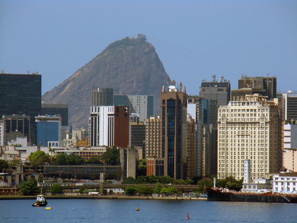 Fotos De Skyline >> Centro do Rio de Janeiro | Foto tirada da Ponte Rio-Niterói … | Flickr