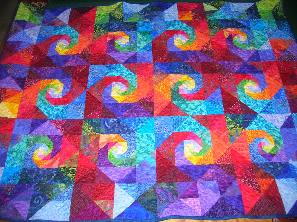 Dad S 80th Birthday Quilt My Own Version Of A Snail S