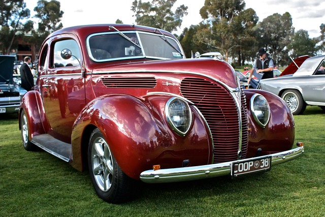 New Cars Com >> Ford Coupe 1938 | Maroon 1938 Ford Coupe at the Shannon's ...
