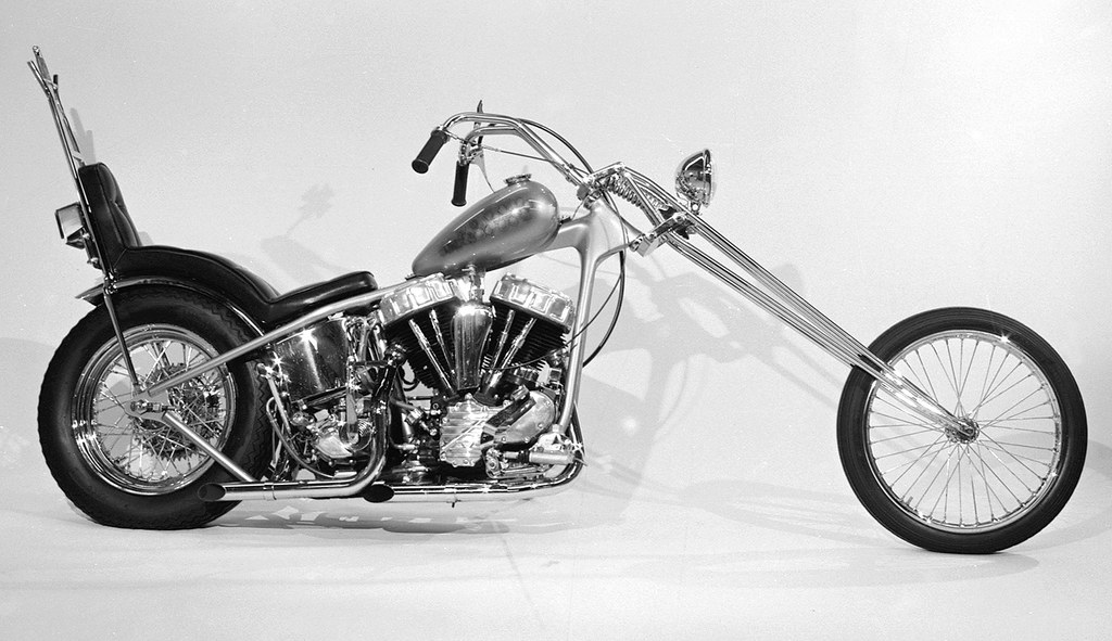 1958 Panhead Chopper | In 1972 the Tracy,CA police ...