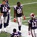 Randy Moss and Tom Brady on the sideline