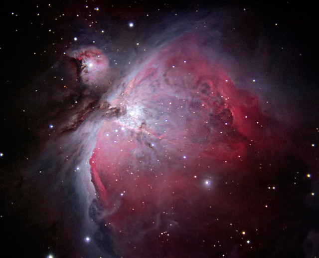 The Great Orion Nebula (M42) | It's a bit noisy and the ...