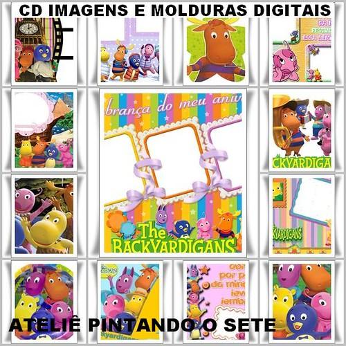 CD DE IMAGENS E MOLDURAS DIGITAIS DOS BACKYARDIGANS | Flickr ...