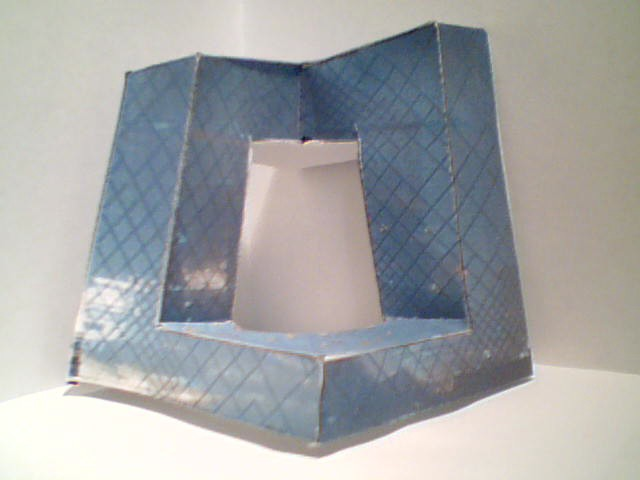 My Cctv Headquarters Paper Model Made Completely Of