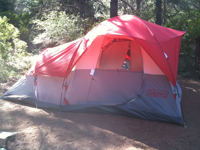 ... our tent - Coleman® 3-Room 9-Person Family Dome Tent - 14 & our tent - Coleman® 3-Room 9-Person Family Dome Tent - 14u0027u2026 | Flickr