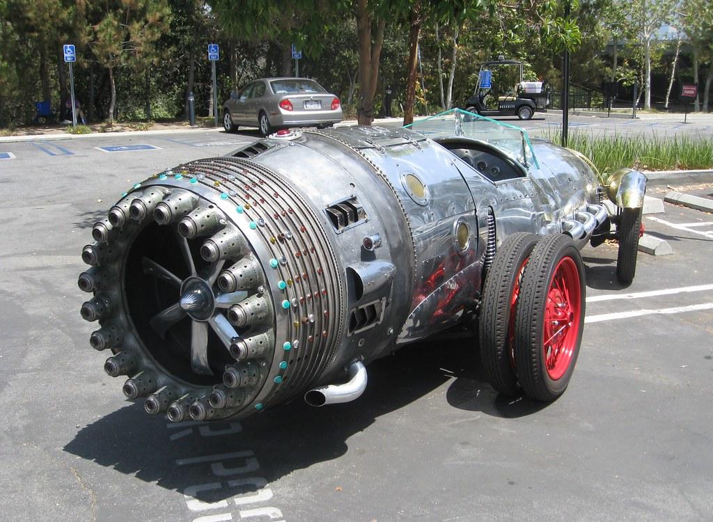 World Car Center >> Rocket Car by Baron Margo | Art Center Car Classic, 2009. | Flickr