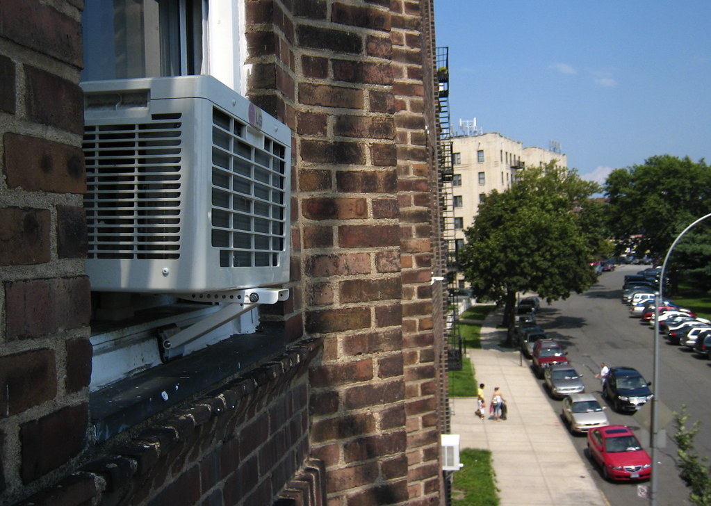 All this trouble for this so the board of my building for Air conditioner bracket law