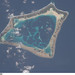 Atafu Atoll (NASA, International Space Station Science, 01/06/09)