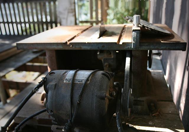 Dad 39 S Old Table Saw Still Working Craftsman Split