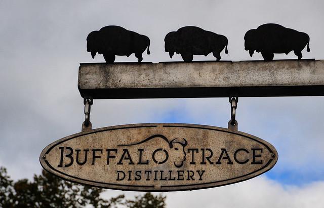 Buffalo Trace's Sign