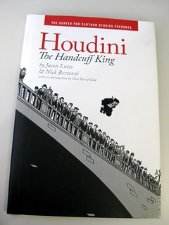 Houdini the Handcuff King by Jason Lutes and Nick Bertozzi | by firstsecondbooks
