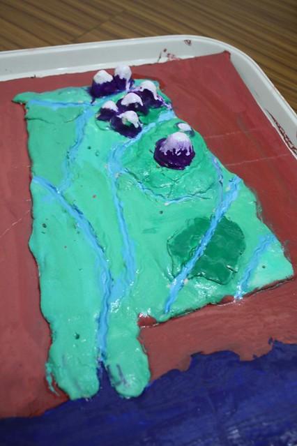 salt dough map of AL | Jimmie | Flickr