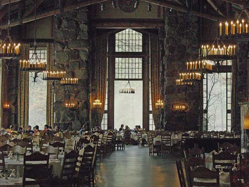Ahwahnee Dining Room Beautiful Setting For Lunch Or