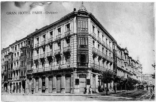 gran hotel paris oviedo inagurado en cerrado en 1