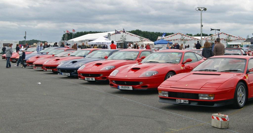 Ferrari Car Park Cassino Square