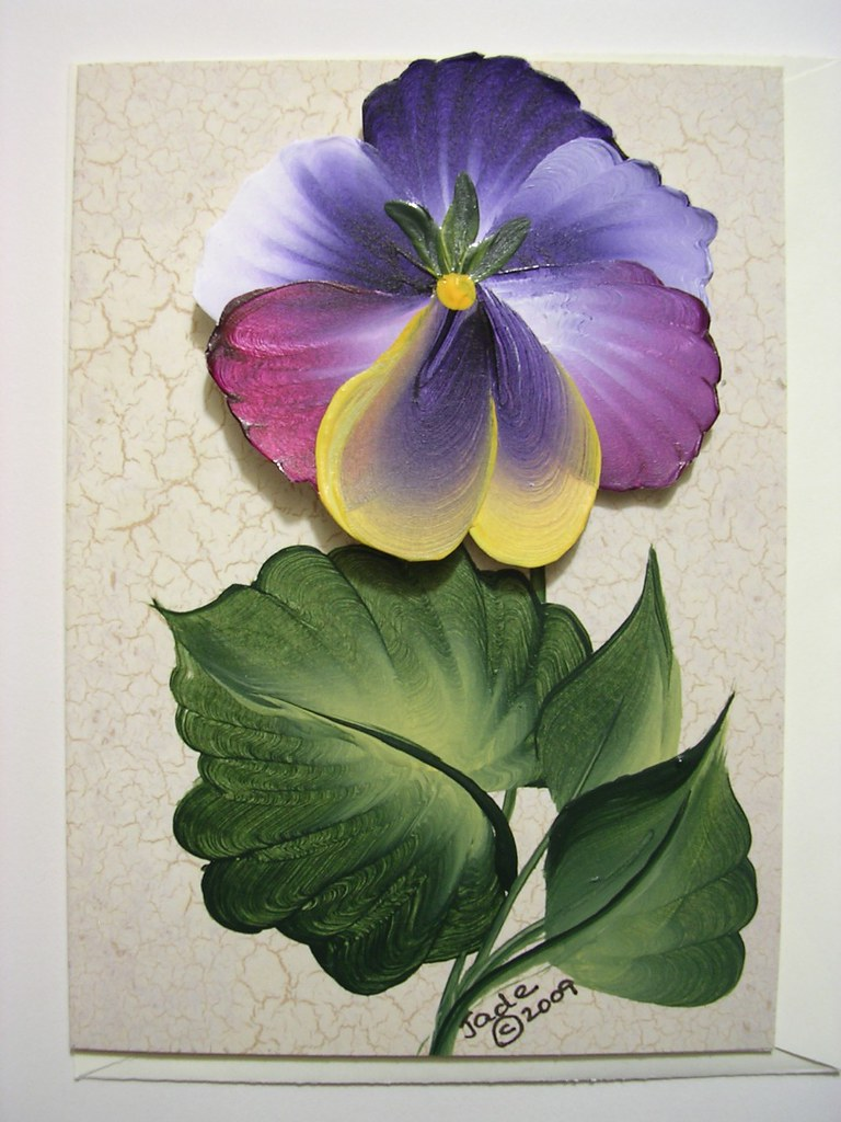 the botanical collection note card
