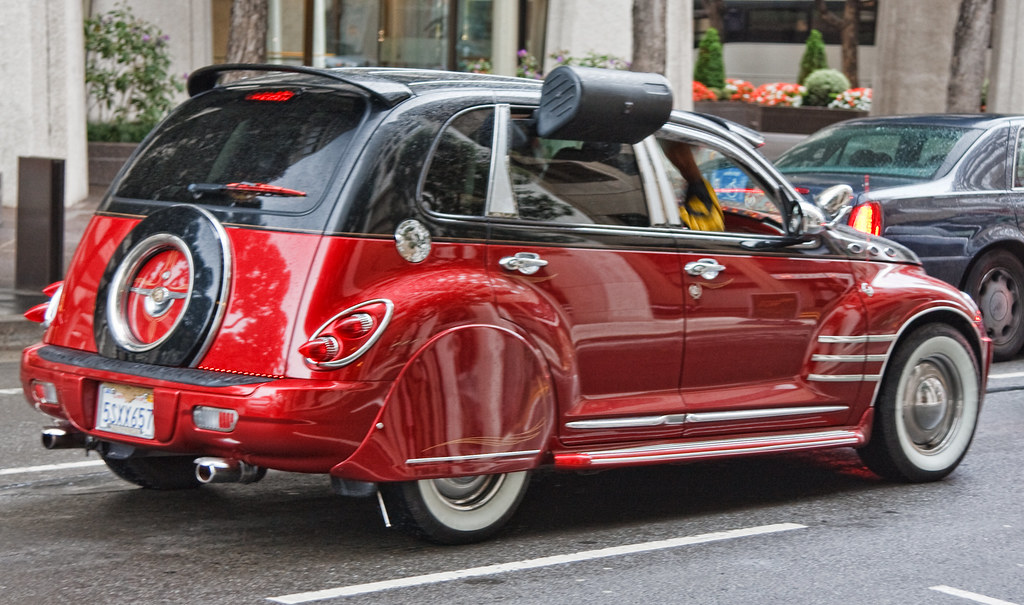 Pimped Out Pt Cruiser Candice Montgomery Flickr