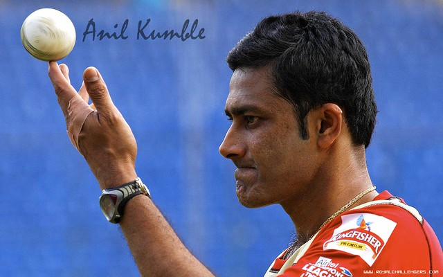 Anil Kumble Wallpaper Captain Of Royal Challengers Flickr