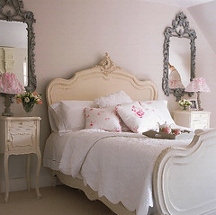 Pink Shabby Chic Bedroom | by BrunchatSaks