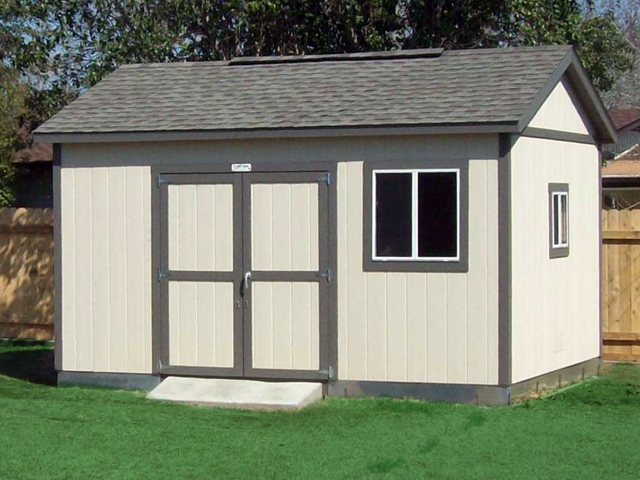 Premier Pro Tall Ranch 12x16 Options Shown Paint