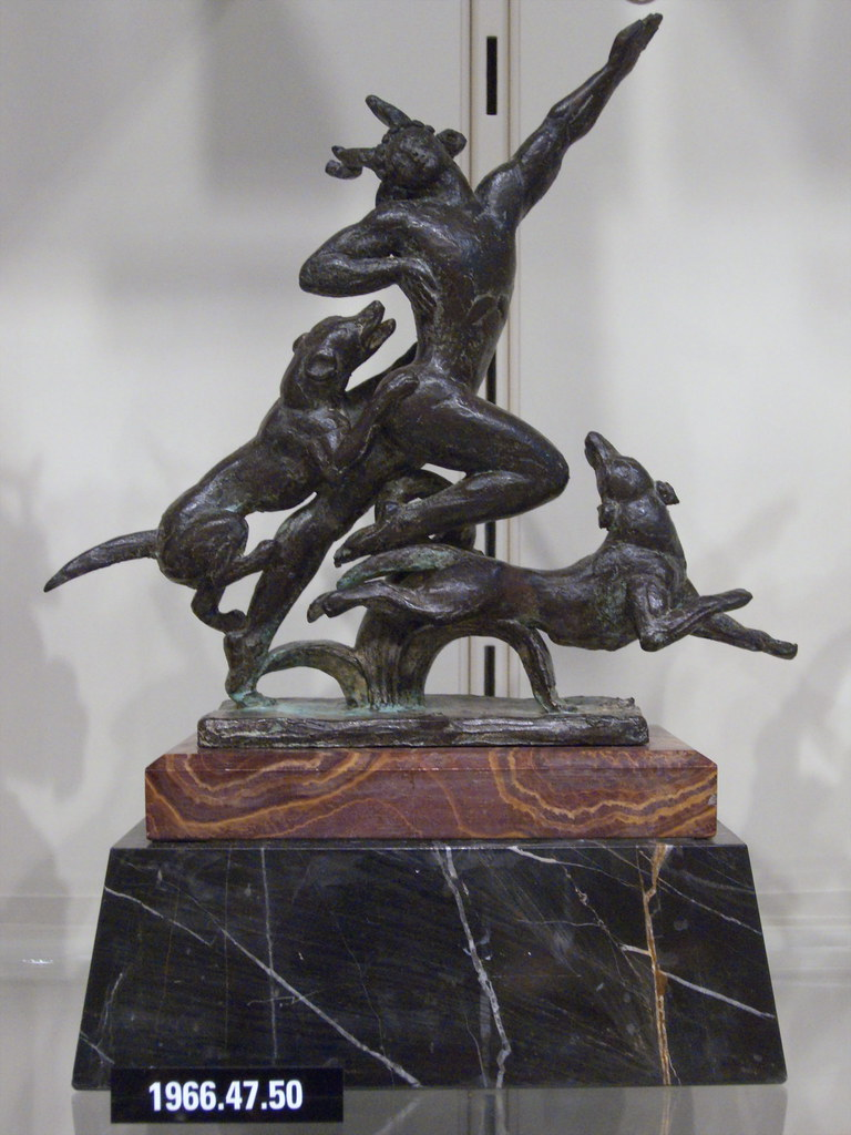 a report on two sculptures of actaeon and diana by paul manship Museum of art annual report 2016–2017  around the globe two  main exhibitions were timed to coincide  art of michael dunbar in the sculptural  tradition  diana and actaeon, 1925 paul manship american.
