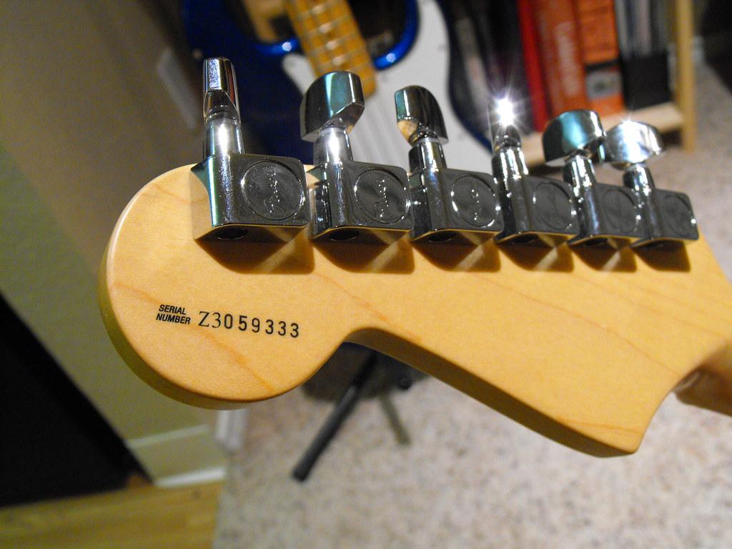 "Fender Stratocaster Neck >> 2003 Stratocaster Headstock | 2003 Fender ""Highway One"" Stra… | Flickr"