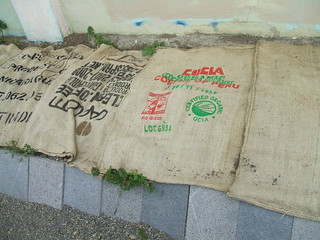 Coffee Bean Sack Weed Barrier | by greenwalksblog