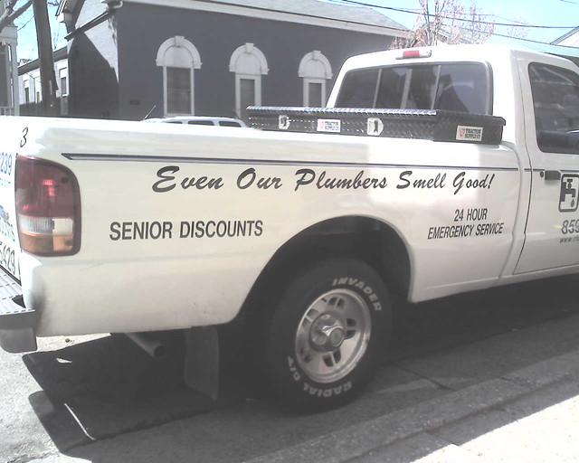 truck Funny plumbing