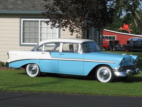 1956 chevrolet bel air 4 door sedan 39 bmh 875 39 2 flickr for 1956 chevy 4 door sedan