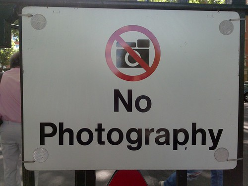 No Photography | by Banalities