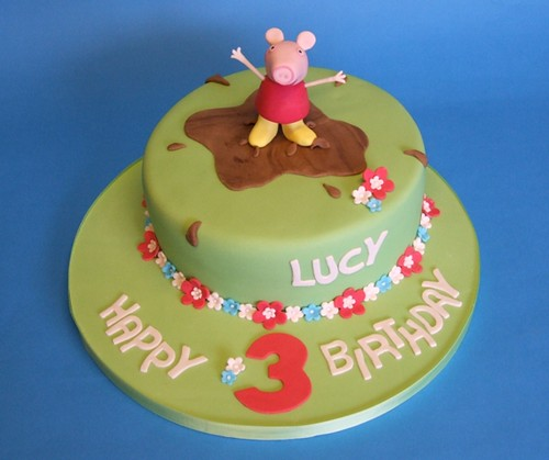 Peppa Birthday Cake Clipart