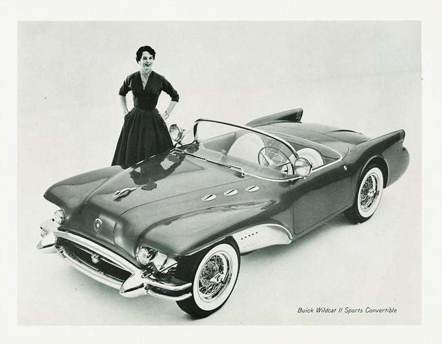 1954 Buick Wildcat Ii Sports Convertible Concept Car Flickr