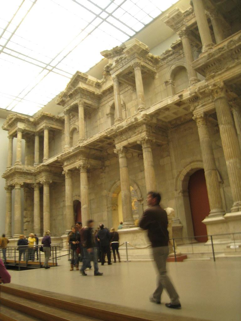 Miletus Market Gate, Pergamon Museum  Robert Wright  Flickr