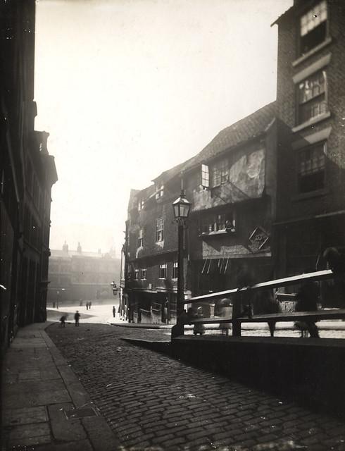 Akenside Hill. Newcastle-upon-Tyne 1883.