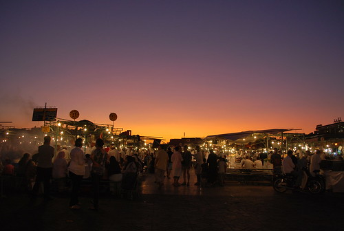Place Jemaa-el-Fna, Marrakech | by littleblom