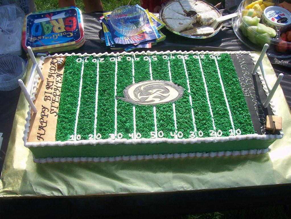 Hawks Birthday Cake