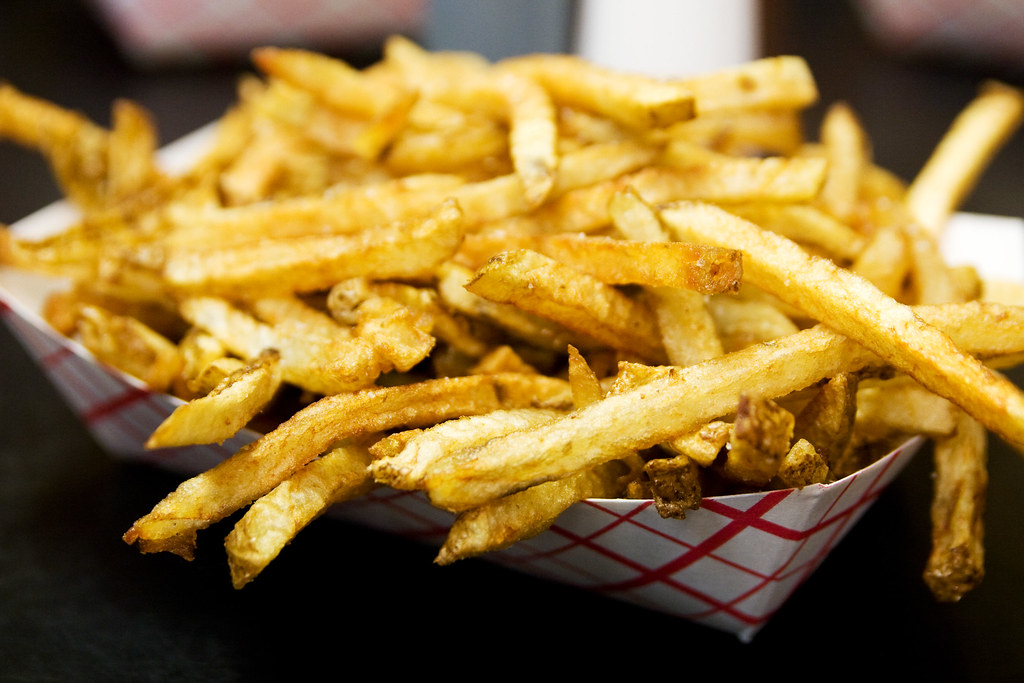 Duck fat fries hot doug 39 s robyn lee flickr for Doug s fish fry